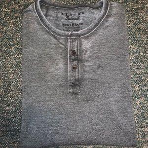 Lucky brand Venice burnout long sleeve shirts 2